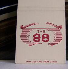 60bc15104 Rare Vintage Matchbook Cover D3 New Hampshire Manchester Salem 88 Restaurant