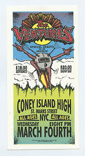 The Ventures 1998 Mar 4 Coney Island Ny Handbill Mark Arminski