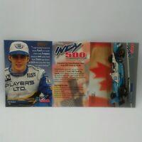 Promo 1996 SkyBox Indy 500 Trading Cards Jaques Villeneuve 3 Card Panel