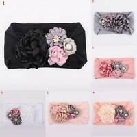 Cute Kids Girl Baby Cloth Toddler Flower Bow Headband Hair Band Headwear