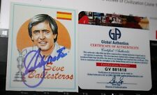Seve Ballesteros Autographed Golfer Sports Card  & COA Masters & Open Champion