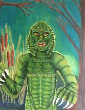 Creature from the Black Lagoon Sea Classic Monster Universal Studios Print