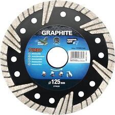 Graphite turbo meuleuse d'angle disque diamant lame carrelage 115,125,180,200