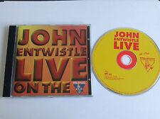 John Entwistle - Greatest Hits Live (Live Recording, 1998) CD - MINT