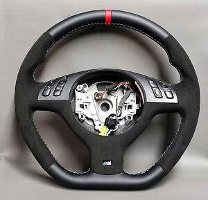 Steering wheel BMW E46 E53 E39 M3 New leather / alcantara