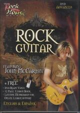 Learn Rock Guitar Advanced Tuition DVD Learn How To Play by John McCarthy