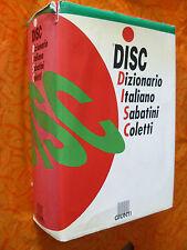 DIZIONARIO ITALIANO SABATINI COLETTI.GIUNTI.I EDIZ. 1997