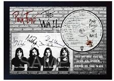 Pink Floyd The Wall SIGNED Autographed FRAMED PHOTO CD Disc #1