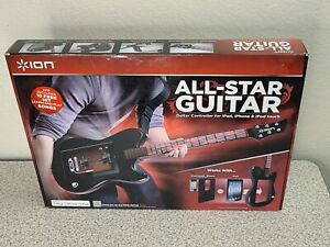 Ion All Star Guitar For iPad IPhone and IPod Touch Brand New COMPLETE