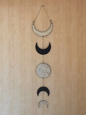 NewAge Designs Small Moon Phases Wall Hanging Wall Art Decor Double Sided for Di