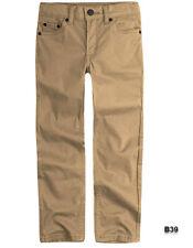 Levi's Boys' Big 511 Slim Fit Soft Brushed Pants, Harvest Gold, 12 ~B39