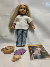 American Girl 18 in. Julie Doll with Outfit and Book