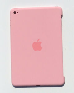 Genuine Apple Silicone Protective Rear Case Apple iPad Mini 4  Light Pink