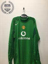 Manchester United GK goalkeeper football shirt 2004/2006 Men's XXL 2XL