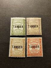 TIMBRE FRANCE COLONIE MAROC TAXE N°42 A 45 NEUF * MH 1916 COTE 33€