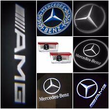 2/4 Mercedes Benz CREE LED Proyector Láser Puerta Luces charco cortesía con el logotipo de la lámpara