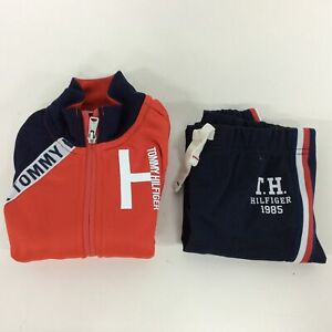Tommy Hilfiger Kids Tracksuit - Size XXS for 2-3 Year Olds #129
