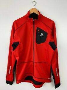 Mens Salomon Equipe Softshell Matador-X Jacket AdvancedSkin Shield Size L