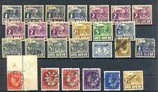 INDONESIA- INTERIM 26 STAMPS UNSORTED --F/VF