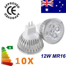 AU STOCK Epistar MR16 12W Power Energy Home LED Light  Lamp Bulbs Spotlight 12V