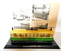 Éditions Atlas Moulé sous pression échelle 1/87 Tram Moteur L STCRP 1923 n.