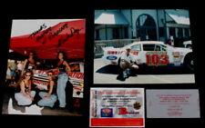 Vtg Hooters Race Photo Jeff Gordon 25th Winston Select & 500 Tickets Joe Buford