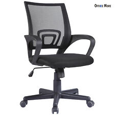 Ergonomic Midback Mesh Office Chair Executive Swivel Computer Desk Task Black