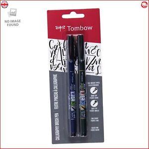 Tombow 62038 Fudenosuke Brush Pen 2 Pens Set