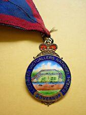 More details for vintage silver enamel badge licensed victuallers national homes governor c1962