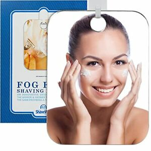 The Shave Well Company Original Anti-Fog Shaving Mirror | Fogless Bathroom Ha...