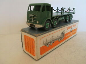 GB DINKY 505 FODEN FLAT TRUCK WITH CHAINS VERY NICE L@@K