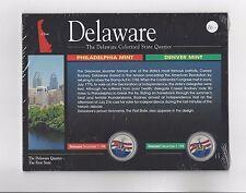 **1999** Delaware Colourised State Quarters
