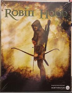 Worthington Games Robin Hood Damaged Rear Box Lid Creased And Split In Shrink