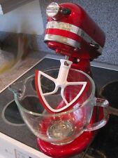 KitchenAid Scrapes Blade 5 Qt Bowl Lift Mixer Attachment Flexible Baking Mix Red