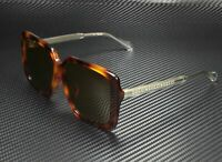 GUCCI GG0567SA 002 Square Havana White Crystal Brown 58 mm Women's Sunglasses