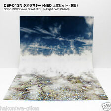[Hakoniwagiken DSF-013N FREE] Diorama Sheet In Fright Set 1:200 1:400 1:500 etc.