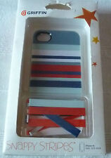 IPHONE 4/S GRIFFIN SNAPPY rayures Case (1st Classe P + P)
