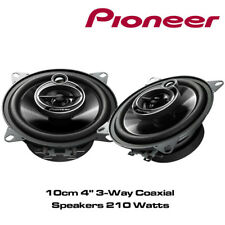 """Pioneer TS-G - 10cm 4"""" 3-Way Coaxial Speakers 210 Watts Dash Speakers"""