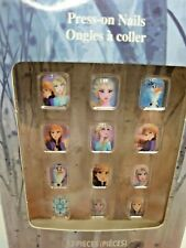 Townley (1) Pack Press-On Nails for Kids Disney Frozen II 12 Pieces per Pack New