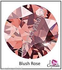 BLUSH ROSE 34ss 7mm 6 pieces SWAROVSKI Crystal Flatback Rhinestones 2088 Xirius