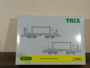 """Trix 23982 Wagen-Set """"Carbid-Flaschenwagen"""""""
