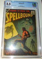 Spellbound #32 CGC 2.5 GD+ 1957, Silver Age, Andelo Torres & Bob Powell art