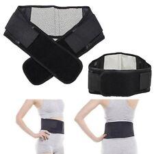 Adjustable Back Support 20 Magnet Lumbar Brace Belt Pull Strap Lower Pain Relief