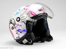 Motorrad-Jethelme aus Acryl-Mischung
