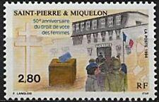 SAINT PIERRE ET MIQUELON NEUF N° 597  FEMMES DROIT DE VOTE