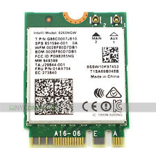 New! Intel Dual Band Wireless AC 8265NGW 867Mbps WIFI + Bluetooth 4.2 NGFF Card