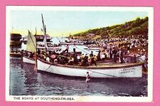 Unposted Pre. 1918.The Boats at  Southend on Sea,  Essex