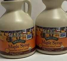 Coombs Family Farms Organic Maple Syrup 16oz Jug (2pack)