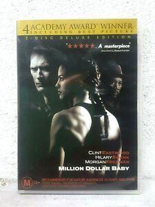 Million Dollar Baby DVD REGION 4 - Drama Boxing Movie Clint Eastwood