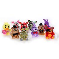 "Five Nights At Freddy's Plush Toy Stuffed Dolls Foxy 7"" 10"" Collectible Cxz #mi"